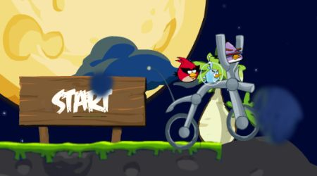 Screenshot - Angry Birds Space Bike