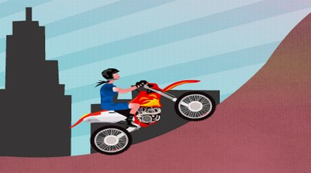 Screenshot - Girl Bike Stunt
