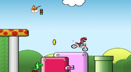 Screenshot - Super Mario Cross